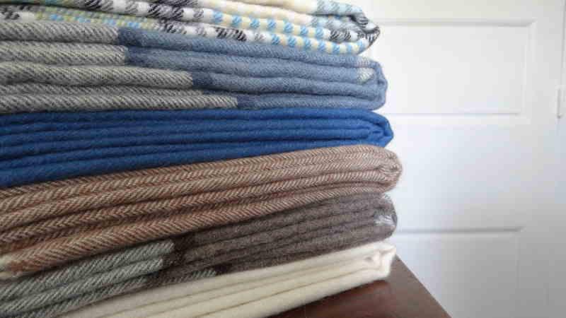 Écharpe en laine d'alpaga