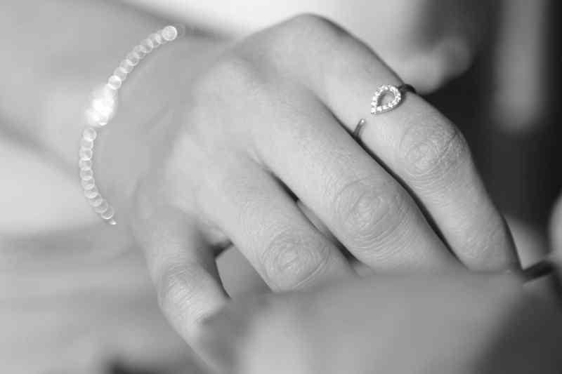 bracelet de mariage en or et diamant